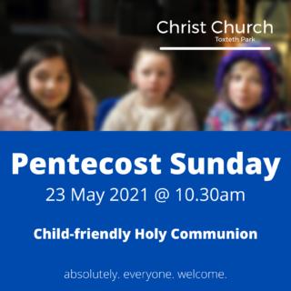 Energetic Blue Church Event Invitation